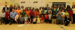 Supporters attended May 16th Vision to Learn event at Irving Elementary